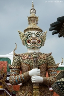 The Grand Palace - Yaksha watching the entrance
