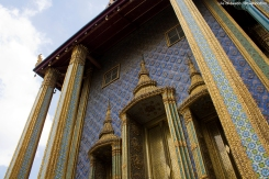 The Grand Palace - Prasat Phra Thep Bidon (The Royal Pantheon)
