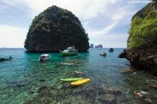 Loh Samah Bay, Phi Phi Leh.