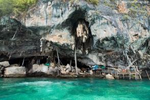 Viking Cave, Phi Phi Leh.