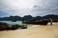 Phi Phi Don. Tonsai Pier.