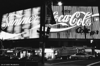Coca Cola sign at Kings Cross