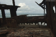 The SS Maheno Shipwreck