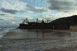 The SS Maheno Shipwreck