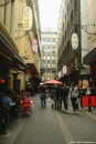 A back street in the heart of Melbourne