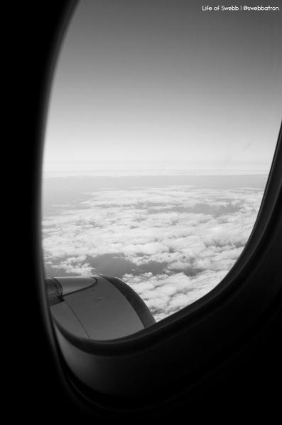 Aeroplane Window View