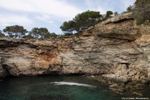 Coastline near Es Pontas